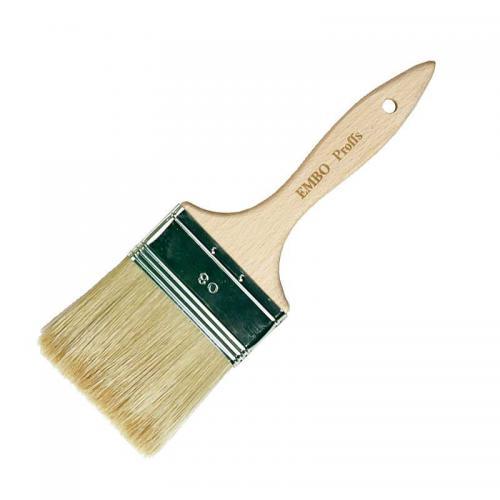 Varnish brush - Embo natural 80 mm