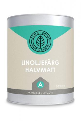 Linoljefärg Selder & Co - sekelskiftesstil - gammaldags inredning - klassisk stil - retro