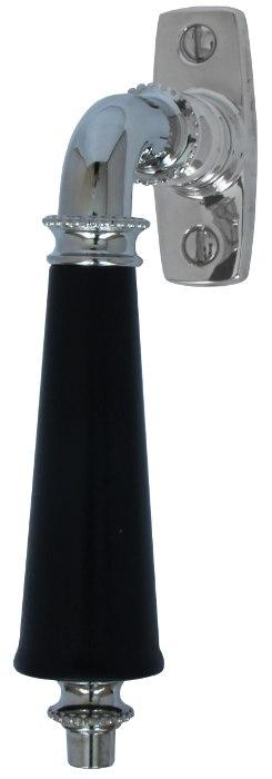 Espagnolette handle - Triple pearl straight (F)