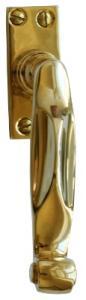 Espagnolette handle - Fix 5 brass