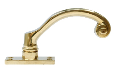 Espagnolette handle - Fix 6 brass