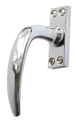Espagnolette handle - Fix 14 (F) - old style - vintage interior - old fashioned style - retro