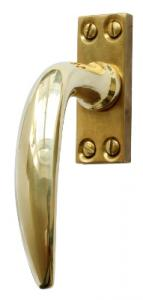 Espagnolette handle - Fix 14 brass