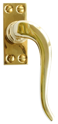 Espagnolette handle - Fix 2 (M) - old style - vintage interior - old fashioned style - retro