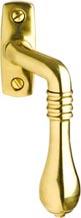 Espagnolette handle - Epok 1899 brass