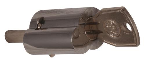 Cylinderlås krom - Tryckcylinder för spanjoletthandtag