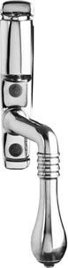 Espagnolette handle - Epok 1899 lock chrome