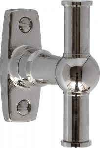 Espagnolette handle -  Window closer nickel