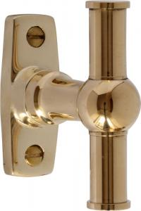 Espagnolette handle -  Window closer brass