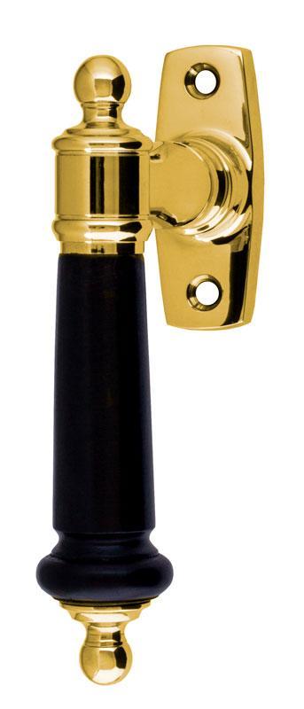Espagnolette handle - Otto Meyer brass