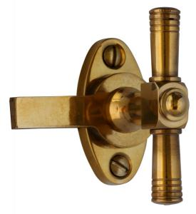 Window knob - Næsman 487 brass