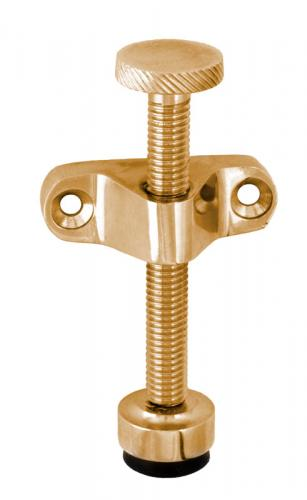Airing fitting - Window holder 75 mm brass