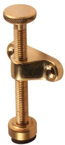 Airing fitting - Window holder 85 mm brass