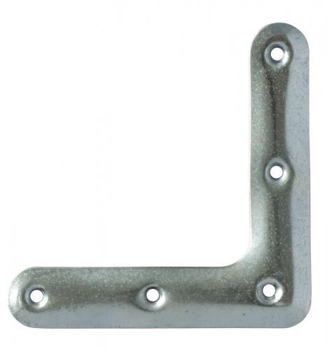 Hjørnejern vindu - Galvanisert stål 102 mm