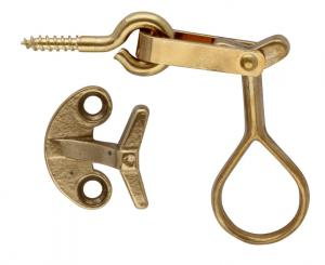 Window Lock - Brass