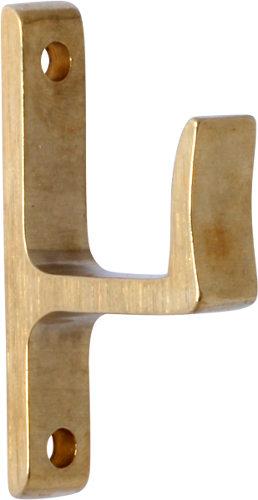 Window hook - Låsbolaget 1310 brass - 28 mm