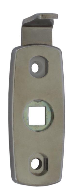 Vinga 7450 chrome - Safety handle latch for espagnolette handles