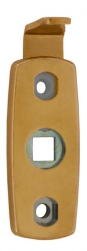 Vinga 7450 - Safety handle latch in brass for espagnolette handles