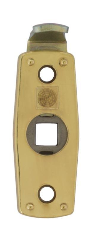 Safety handle latch 1374 - Brass - for espagnolette handles