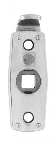 Safety handle latch 1374 - Chrome - for espagnolette handles