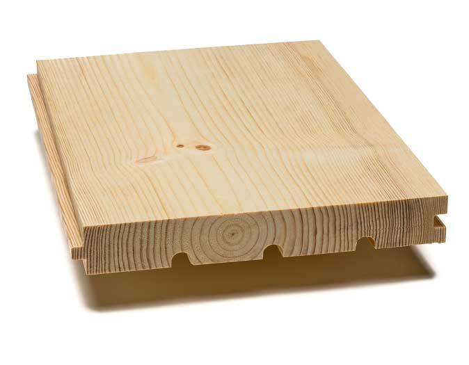 Pine floor  - 30/209 mm, 8 %