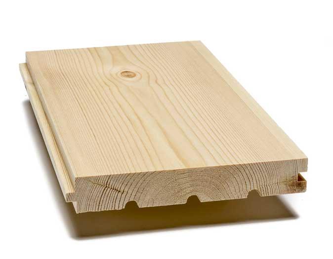 Pine floor  - 30/185 mm, 8 %