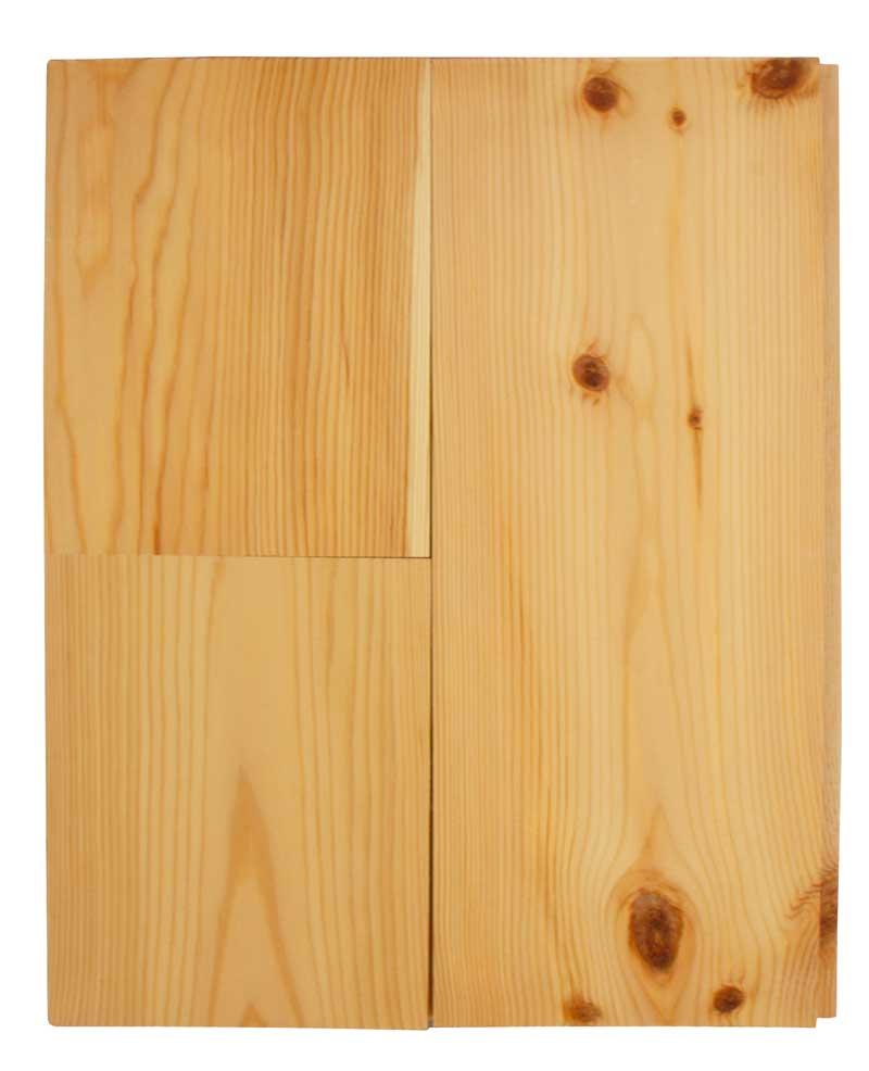 Dried pine floor - 30 x 132 mm 8 %