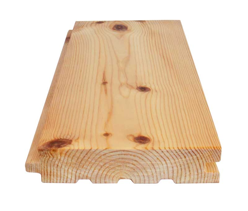Dried pine floor - 30 x 132 mm 8 %
