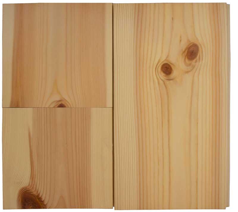 Dried pine floor - 30 x 109 mm 8 %