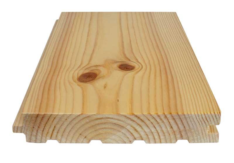 Dried pine floor - 32 x 180 mm 8 %
