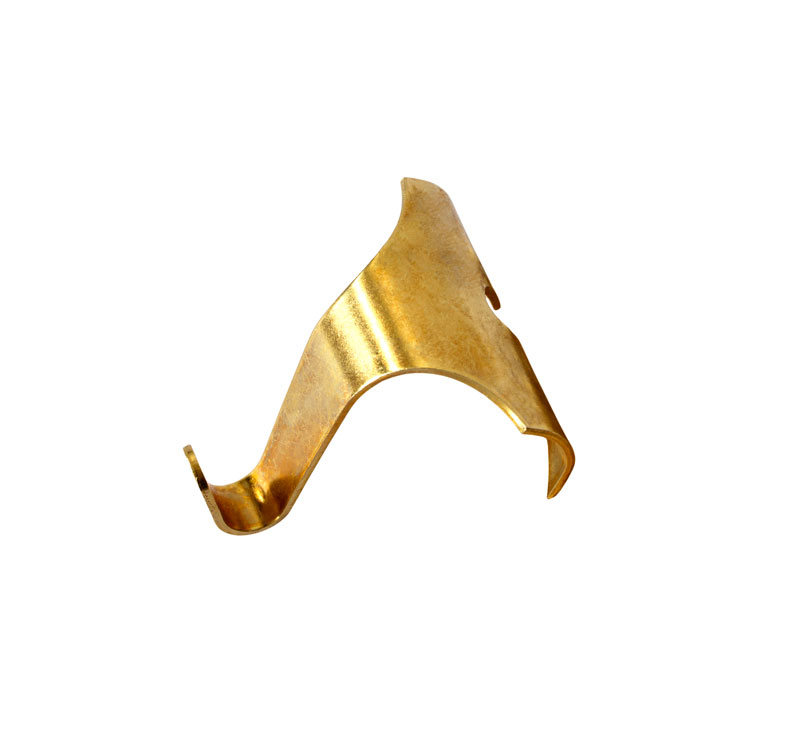 Picture Rail Hook - Brass