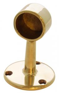 Tube holder brass - 25 mm