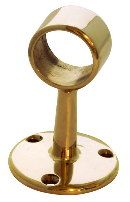 Tube holder brass - 25 mm, connection