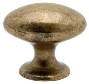 Knob - Oval antique 40 mm