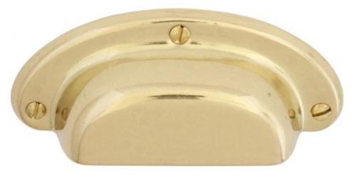 Bowl handle - Untreated brass