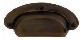 Bowl handle - Antique brass