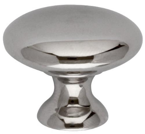 Knob - Ålsten nickel round 30 mm - old fashioned - old style