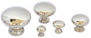 Knopp - Sekelskifte nickel - sekelskifte - gammal stil - klassisk inredning - retro