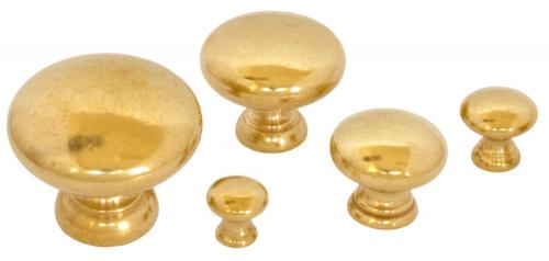 Knob - Sekelskifte brass - old style - vintage style - classic interior - retro