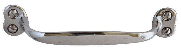 Lådhandtag - Næsman 635 nickel - klassisk inredning - gammal stil