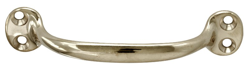 Pull handle - Bårebo 115 mm nickel - old fashioned - old style - vintage