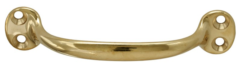 Pull handle - Bårebo 115 mm brass