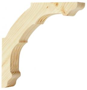 Shelf Bracket D1 wood - Medium
