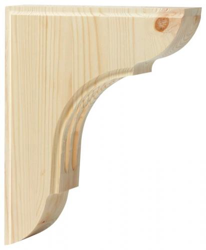 Shelf Bracket C1 wood - Small
