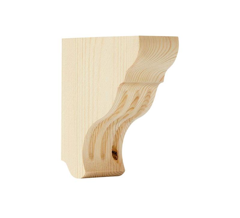 Shelf Bracket A1 wood - Small