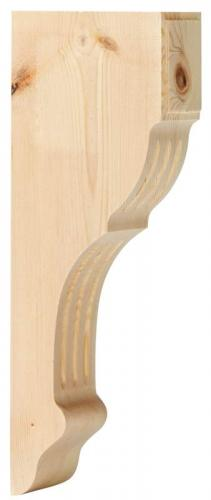 Shelf Bracket A2 wood - Medium