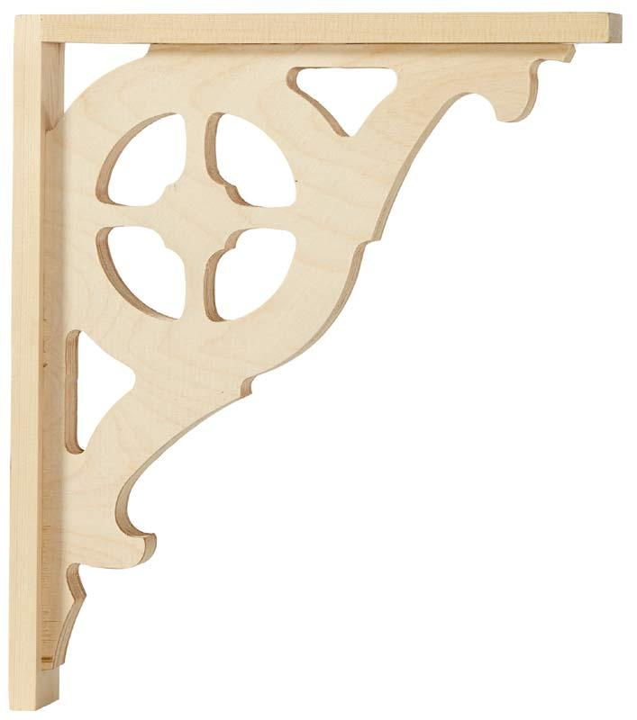 Victorian gingerbread bracket - Small