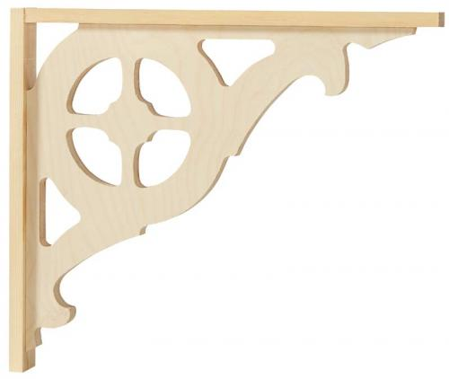 Victorian gingerbread bracket - Large