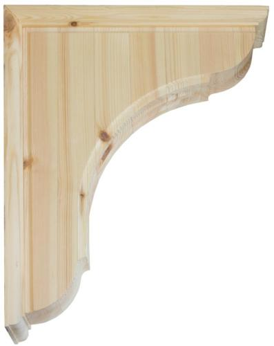 Shelf Bracket C2 wood- medium size
