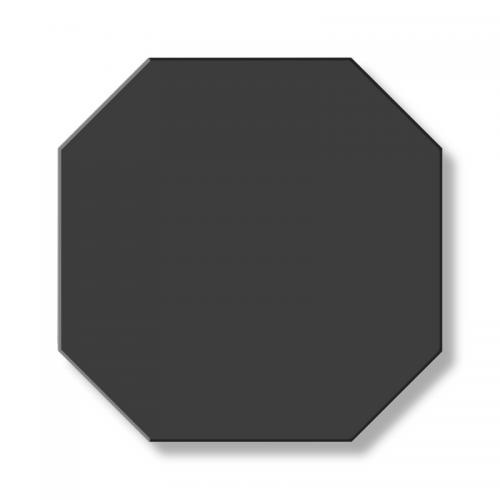 Klinker - Oktagon 15x15 cm svart Winckelmans
